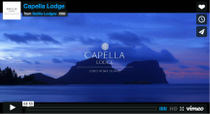 Capella Lodge - be transported