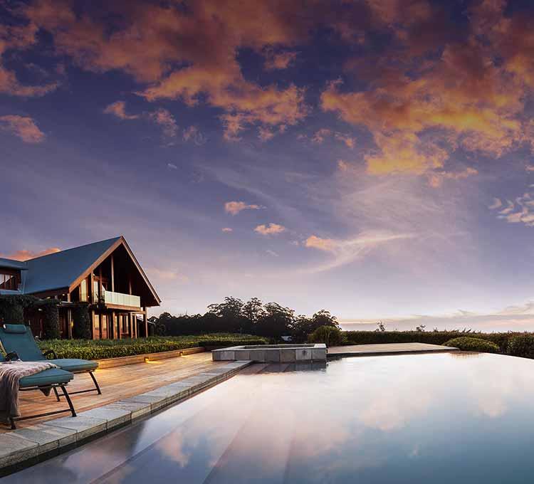 Private Home Queensland Australia: Spicers Peak Lodge