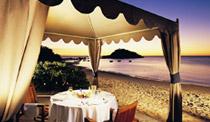 Romantic island hideaway