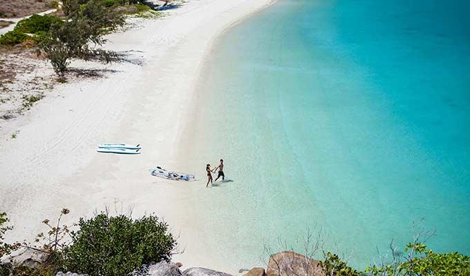 24 white powdery beaches