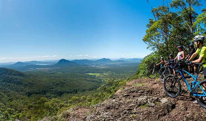 Mountain, Reef & Rainforest
