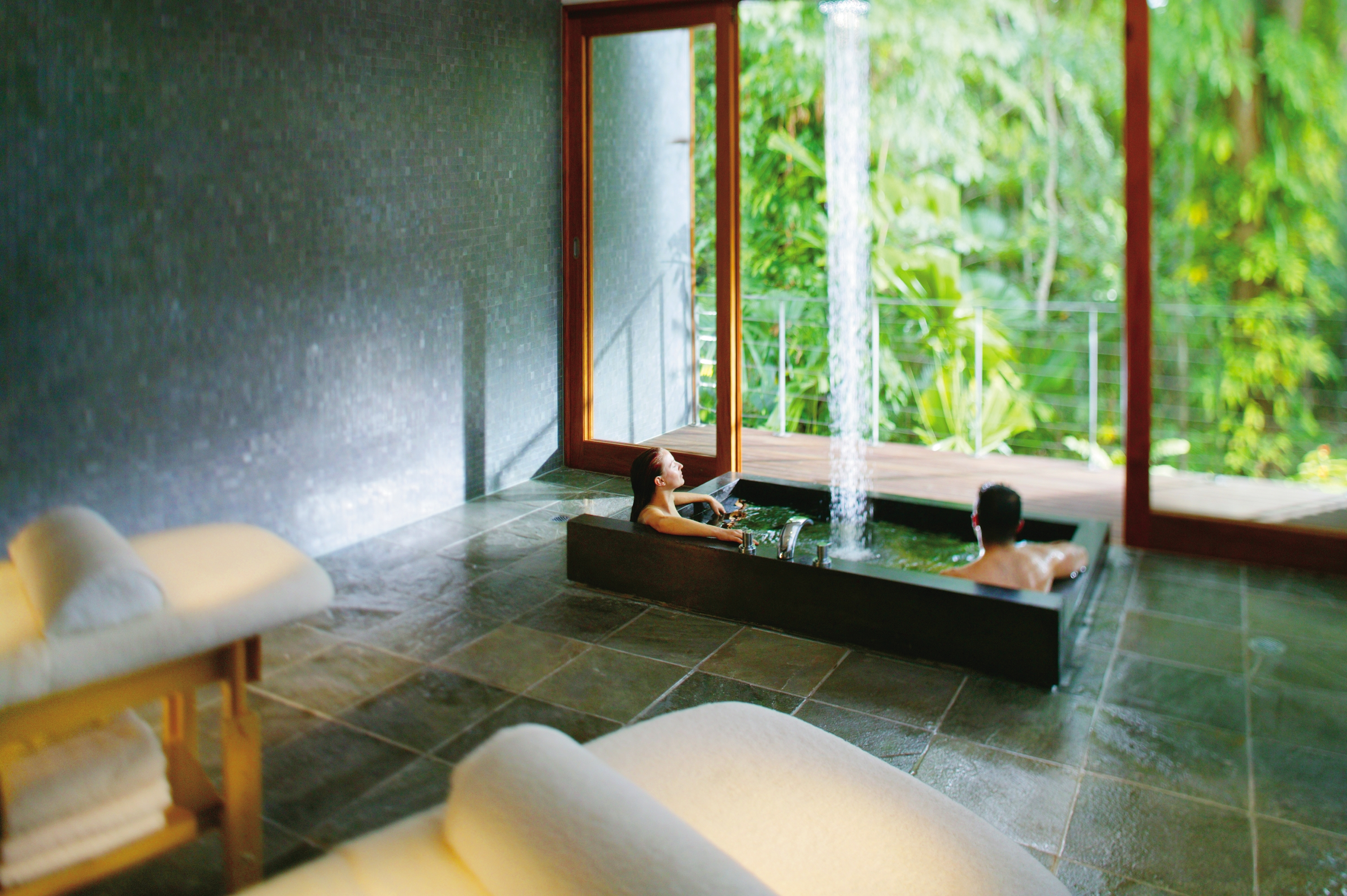 Silky Oaks Lodge - The Daintree - Couples Spa - Click to view larger version