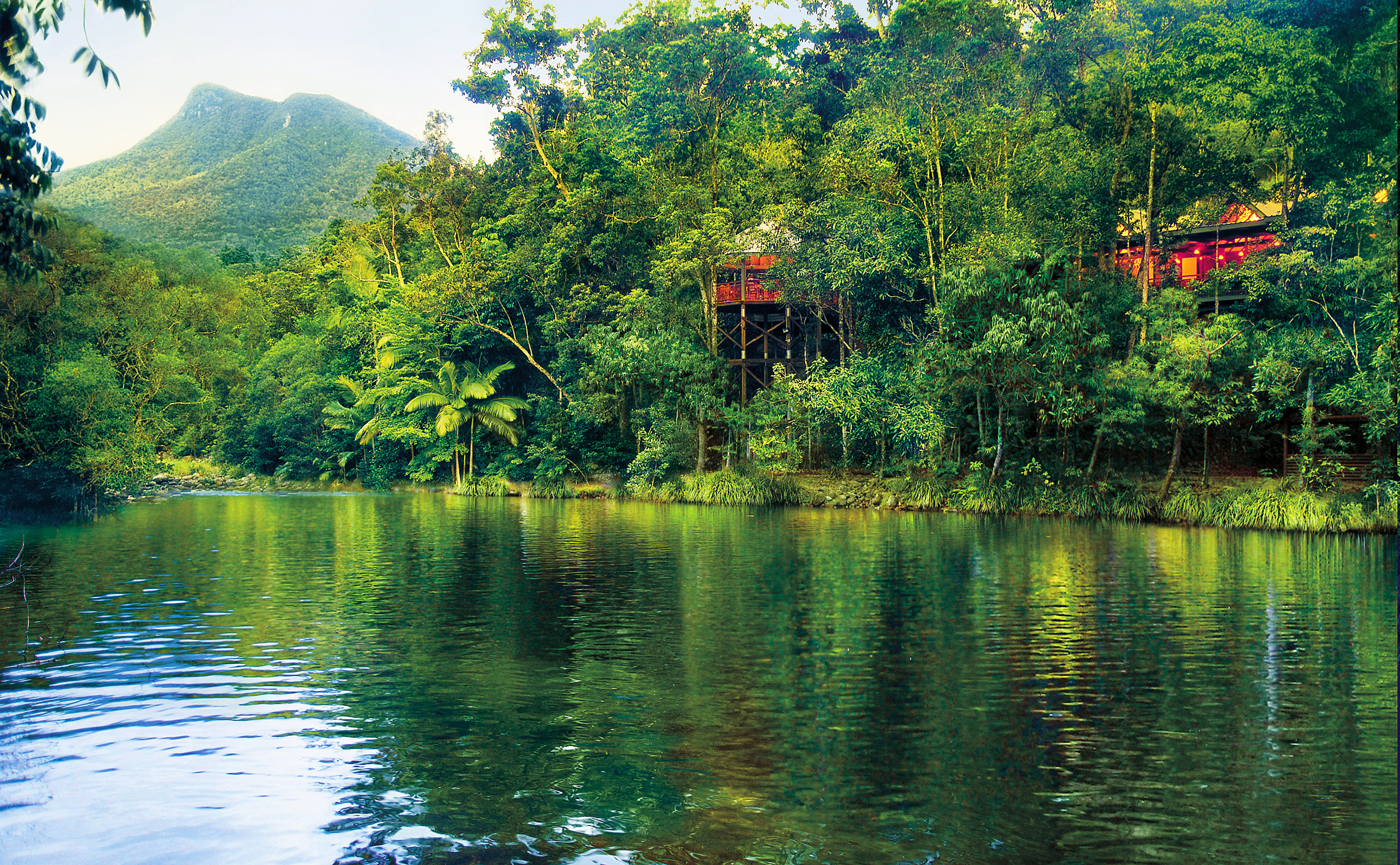 Silky Oaks Lodge - The Daintree - River Image Hero - Click to view larger version