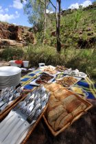 True North_Kimberley Wilderness Cruise_Feast in the Bush - Click to view larger version