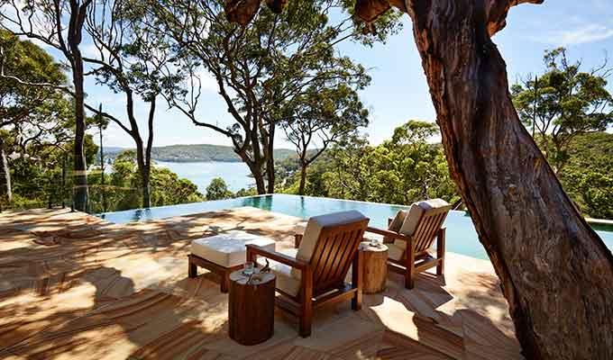 Lux Australian Hilltop Hideaway