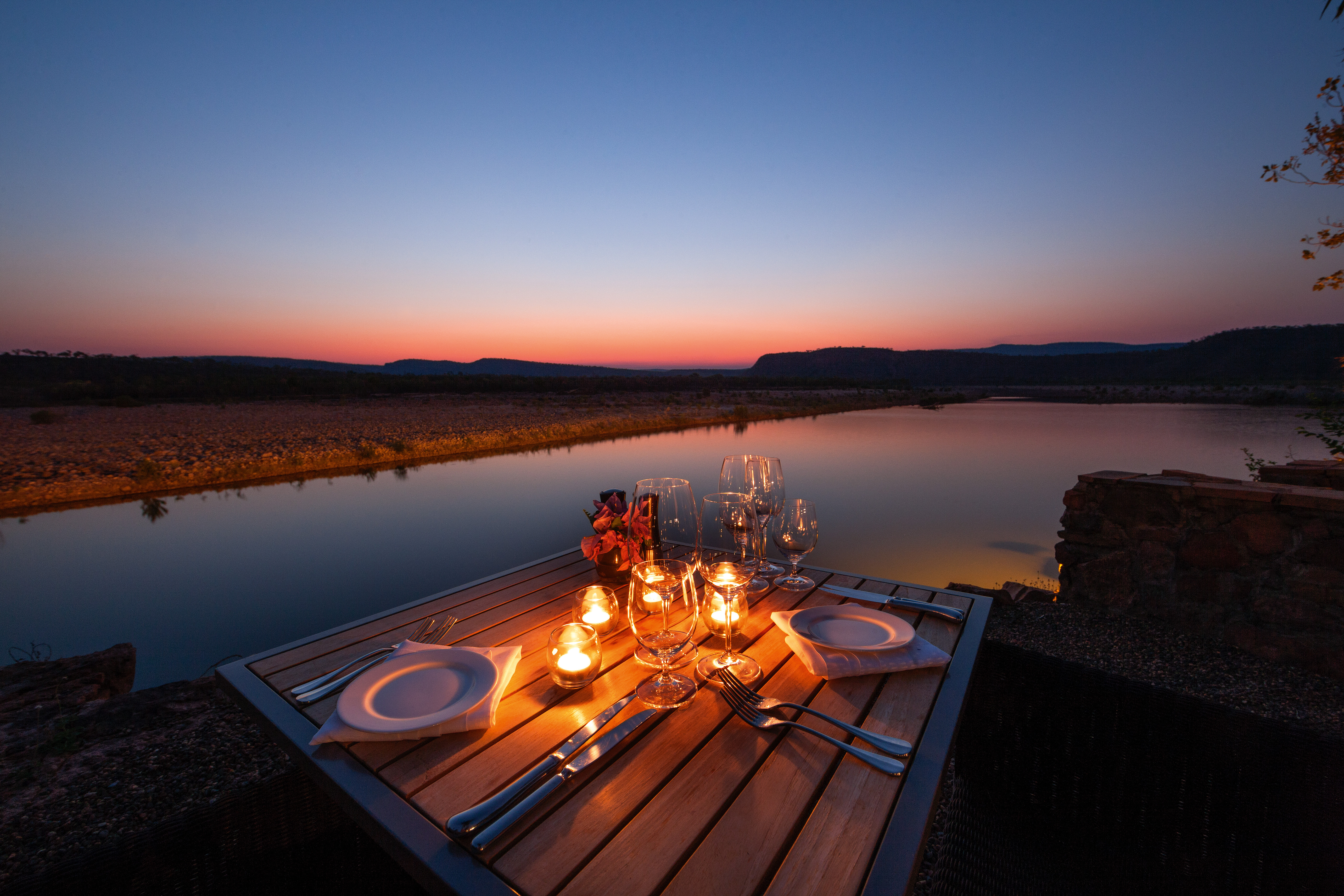 El-Questro-Homestead_The-Kimberley_Cliffside-Dining - Click to view larger version