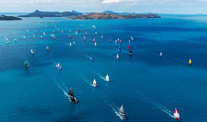 Cyclone Debbie won't stop Hamilton Island Race Week