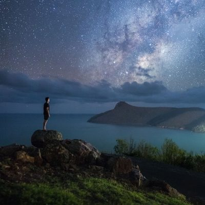 Under a blanket of stars at qualia