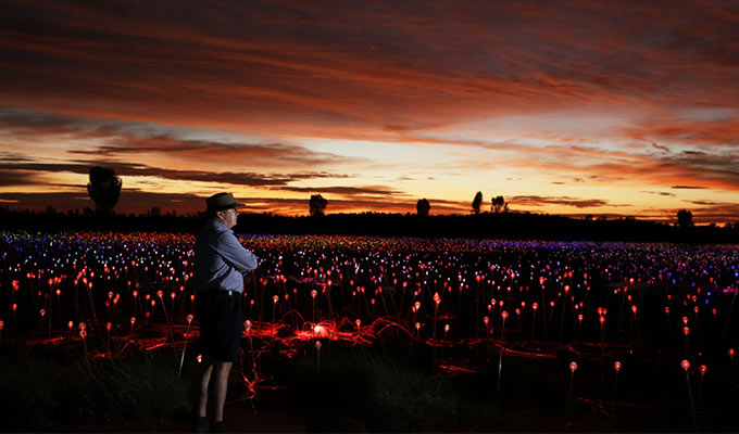 Field Of Light – extended into 2020