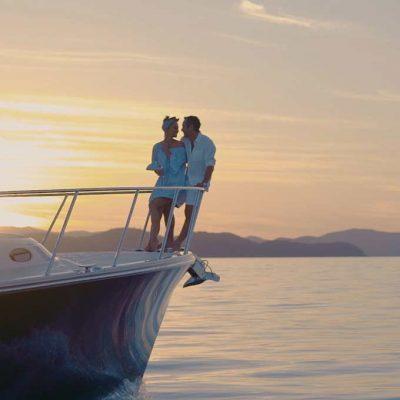 Luxury Charter Cruiser at qualia