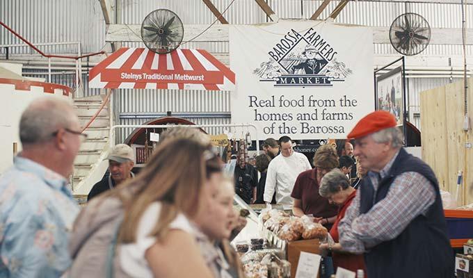 Barossa Farmers Market Tour