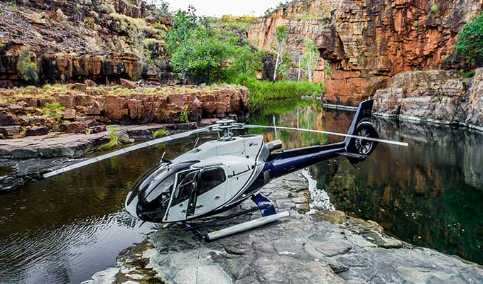 Heli-camping