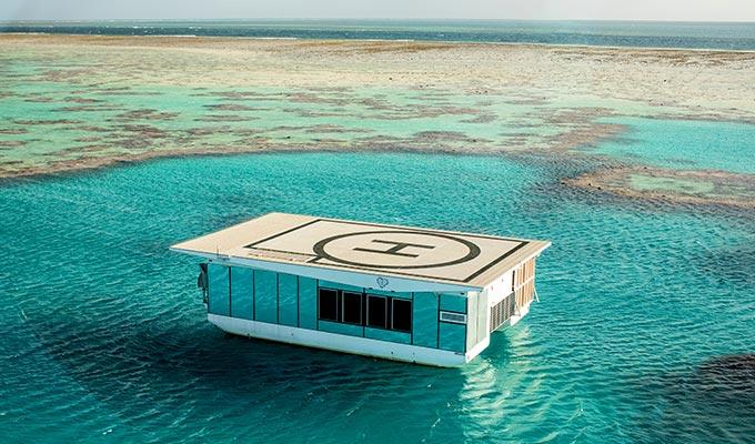 Heart Island Opens