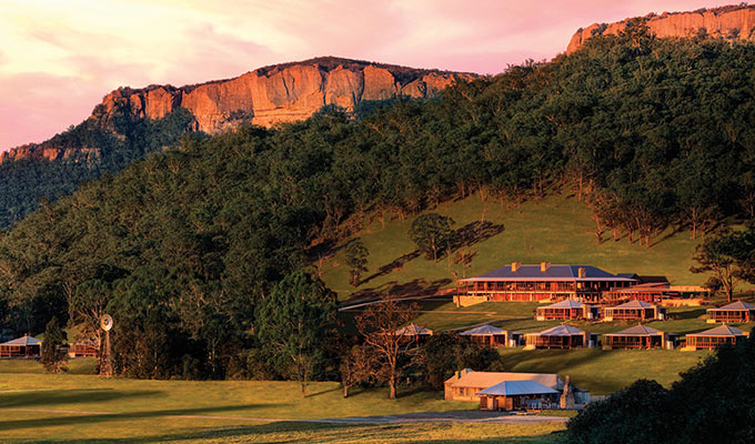 Escape to the magical Greater Blue Mountains