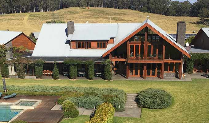 Summer treat at Spicers Peak Lodge