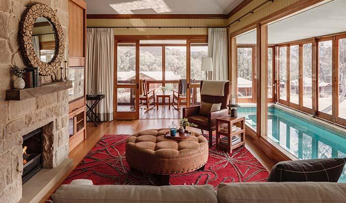 A Luxury Lodge of Australia.