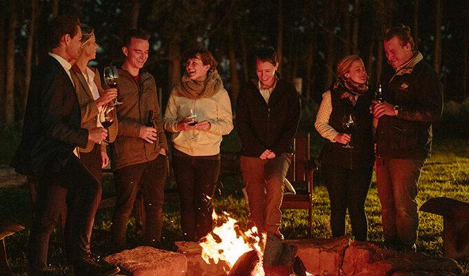 Campfire Canapés